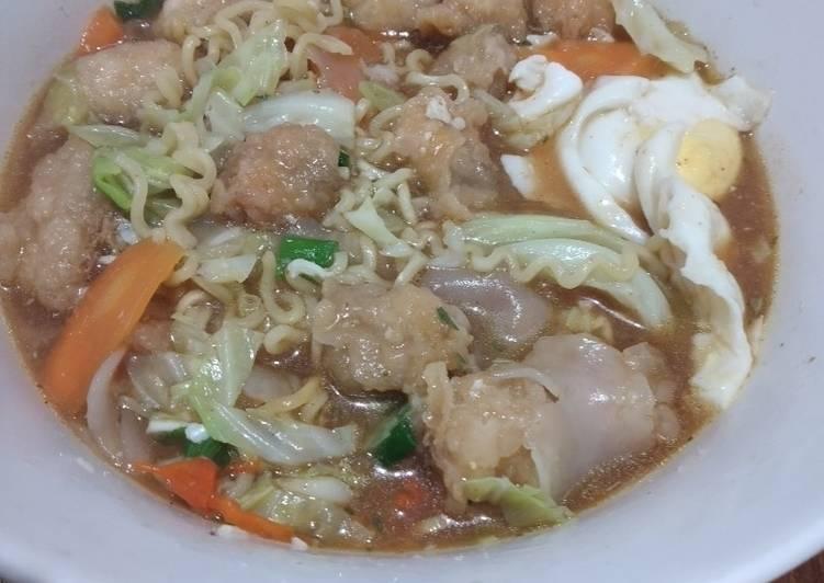 Resep Indomie Kuah Ambyar Paling Top
