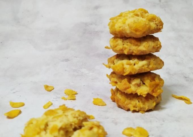 Resep Cornflakes cookies, Enak