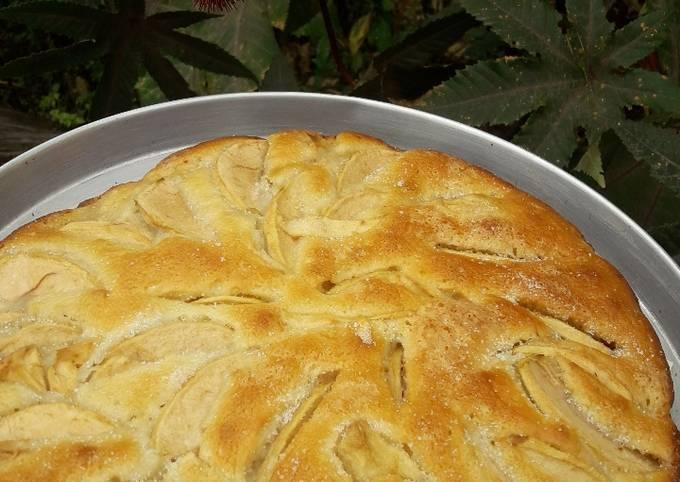 Torta De Manzana Bajas En Calorías Receta De Mis Recetas Versión Saludable Cookpad