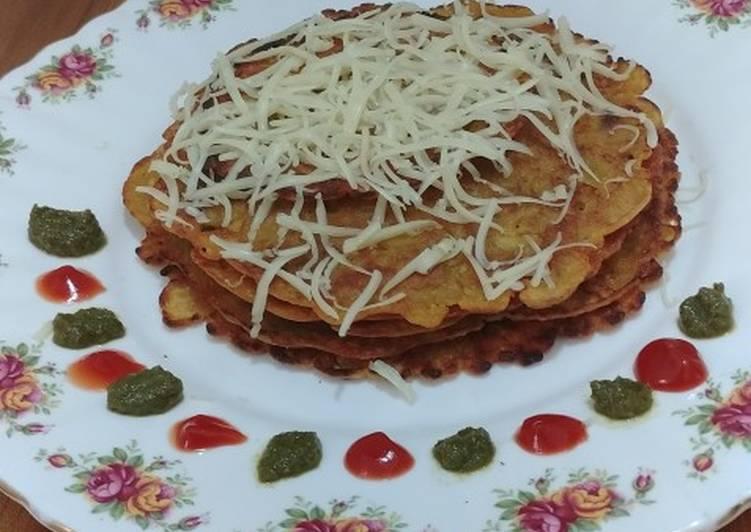 Simple Way to Prepare Super Quick Homemade Chana Dal Chila