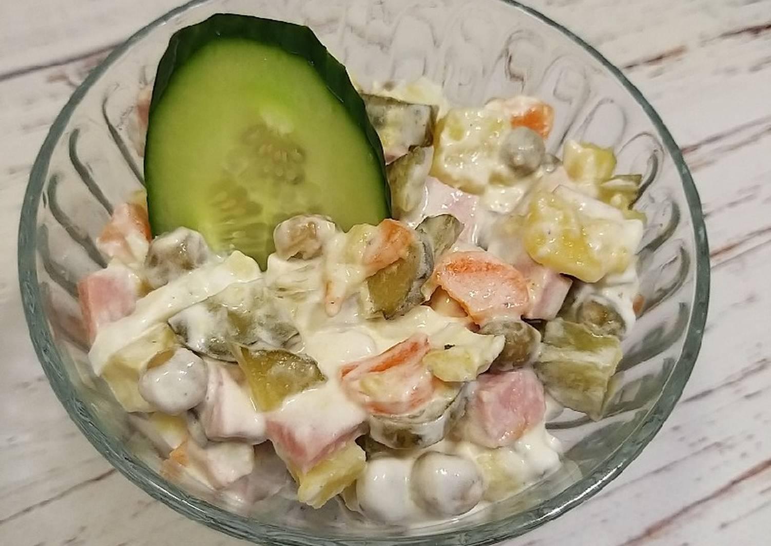 припухлость может салат юрий рецепт с фото пары делают