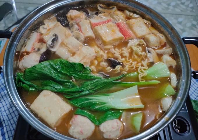 Sukiyaki Kuah Tomyam Pedas