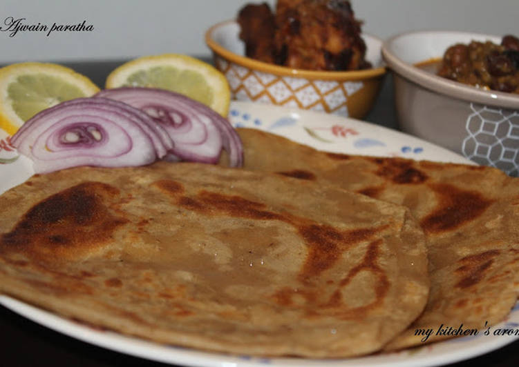 Recipe of Award-winning Ajwain Paratha