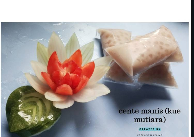 Cente manis (kue mutiara) - cookandrecipe.com