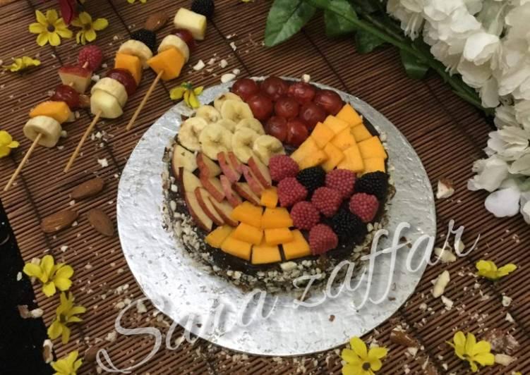 Chocolate trifle cake #cookpadfruits