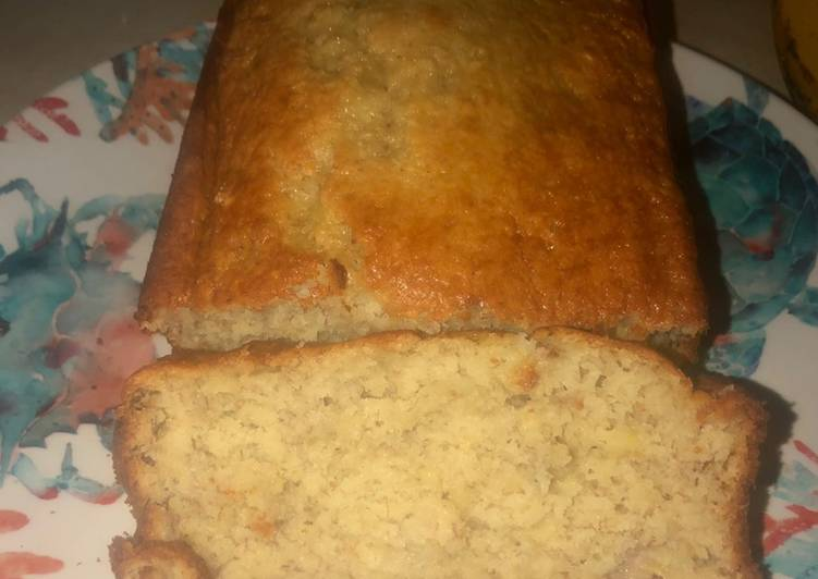 Simple Way to Make Favorite EASY banana bread (nut free)