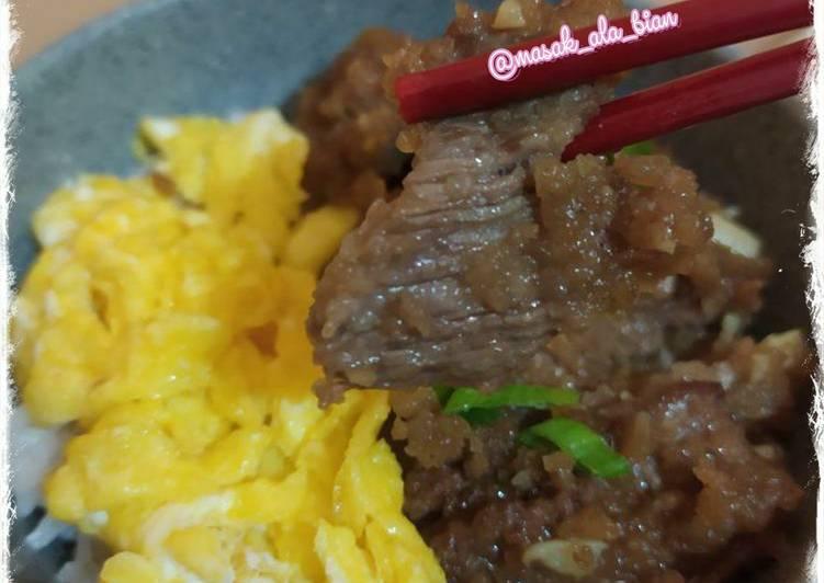 Mongolian Beef Rice Bowl