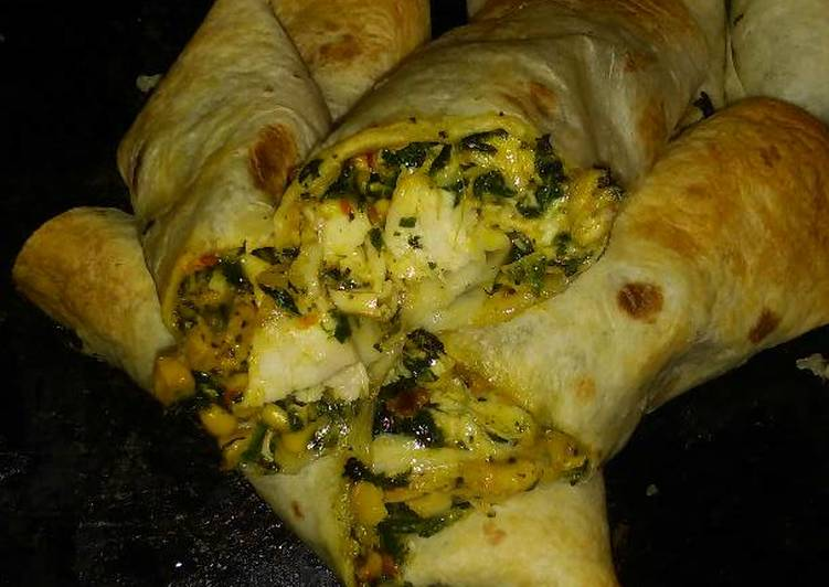 Easy Southwestern Chicken Egg Rolls