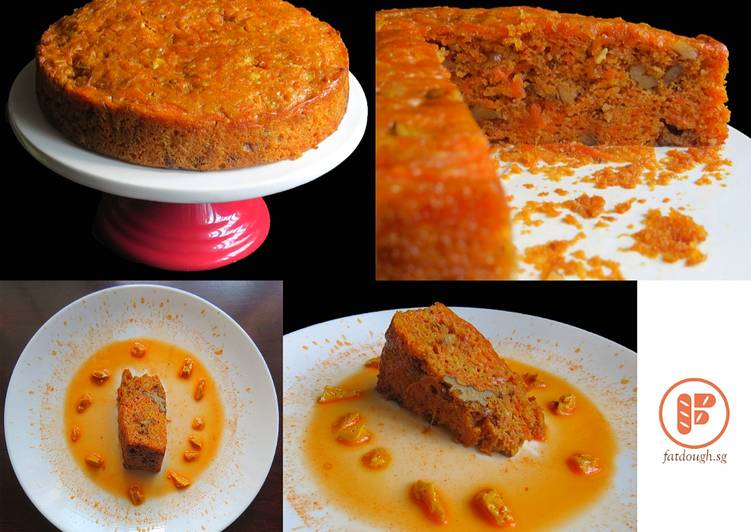 Steps to Prepare Perfect Carrot Cake