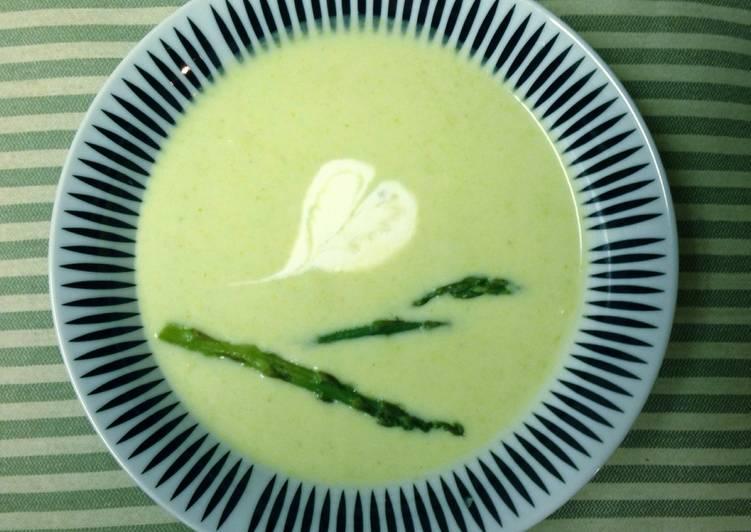 Sup krim asparagus