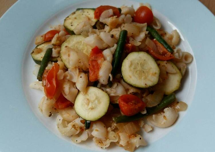 Simple Way to Make Perfect Vickys Ratatouille Pasta Bake, GF DF EF SF NF