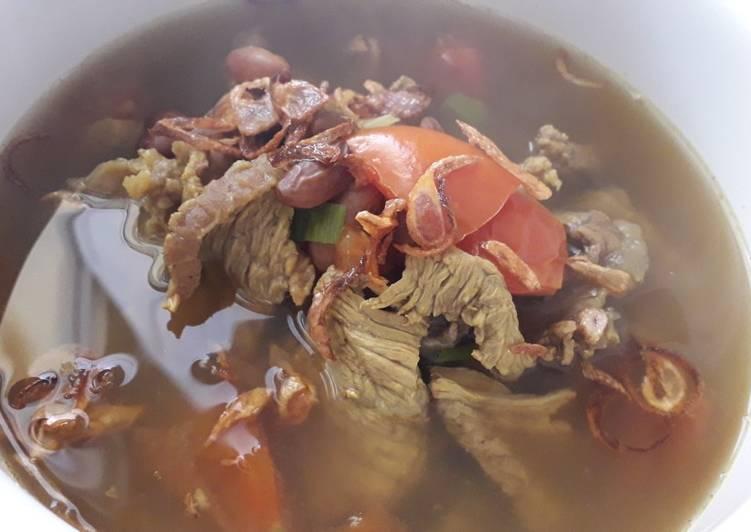 Soto Daging Sapi Kacang Merah