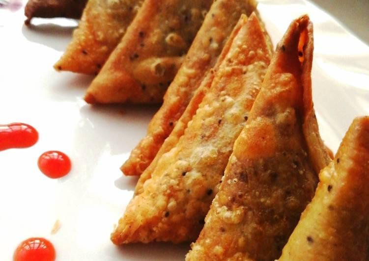 Recipe of Favorite Dengu samosa
