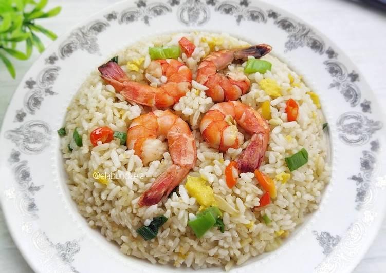Nasi Goreng Udang ala Thailand