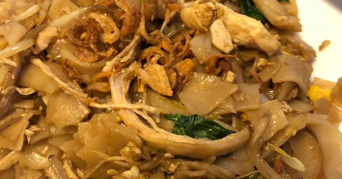 Resep Kwetiau Goreng Ayam Oleh Hanum Hadzami Cookpad
