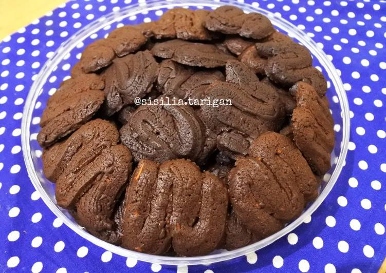 Double Choco Cookies (No Egg)