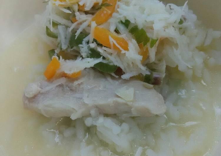 Day. 140 Nasi Tumis Ayam Kelapa Parut (10 month+)