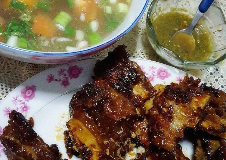 Resep Iga Bakar Spesial Sop Rempah Oleh Tya Trivi Cookpad