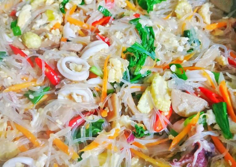 Bagaimana Membuat Bihun Cumi Sayur Enak Aneka Resep Masakan Sehari Hari