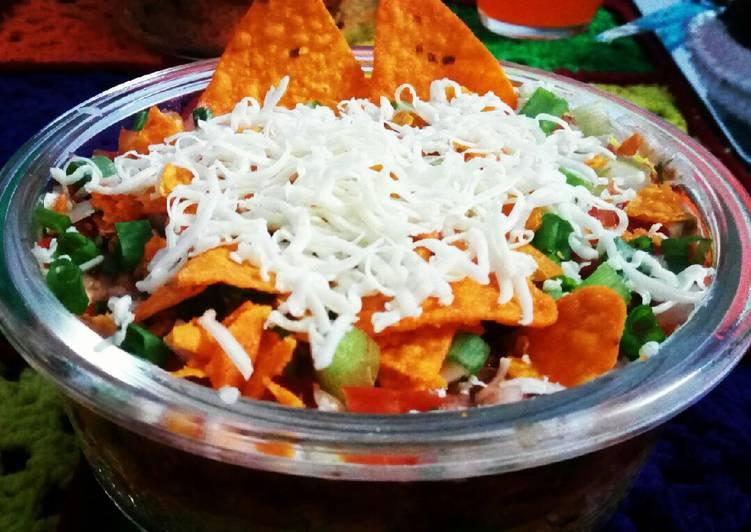 Veggie Burrito Layered Bowl