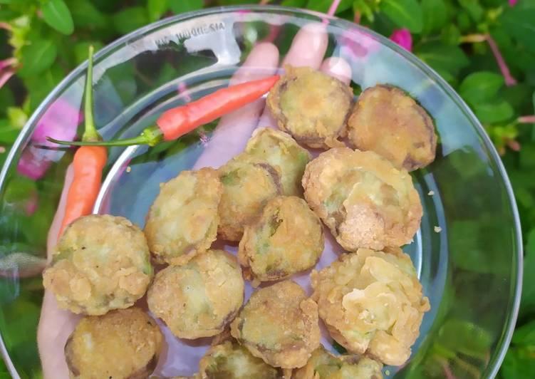 Batang Brokoli Goreng Krispi