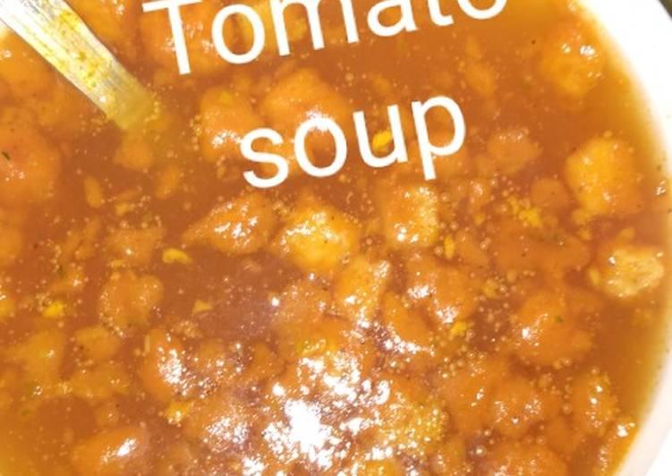 Recipe of Homemade Tomato soup