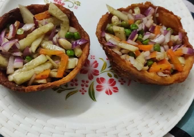 Healthy Katori Chaat