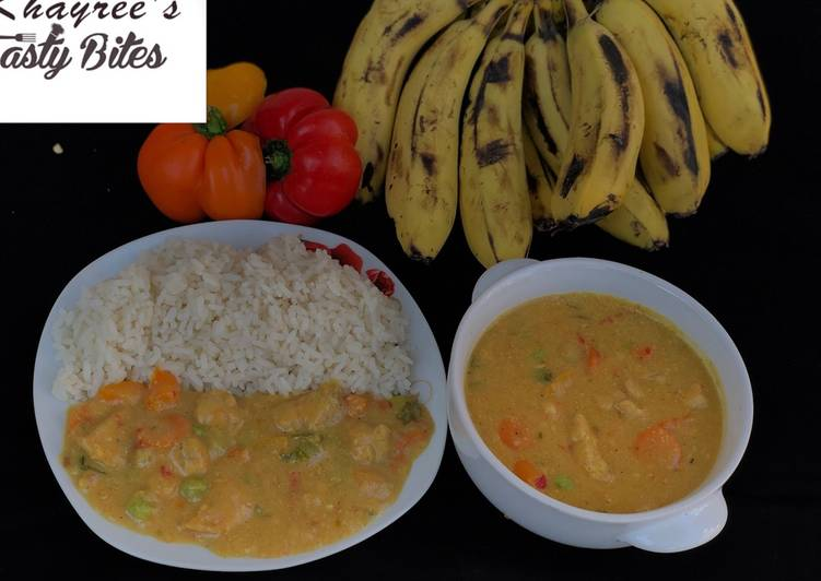 How To Get A Delicious Banana curry 🍛