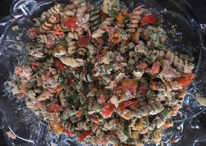 Recipe: Delicious Tuna Pasta Salad