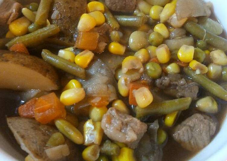 Hearty Vegetable Beef Soup, Some Foods That Benefit Your Heart