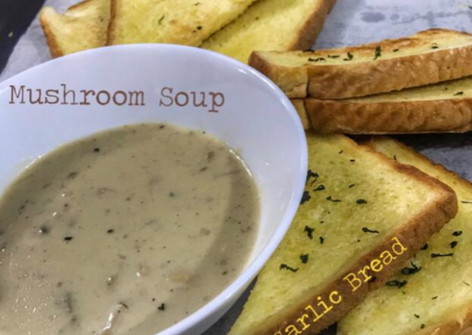 Resepi Mushroom Soup