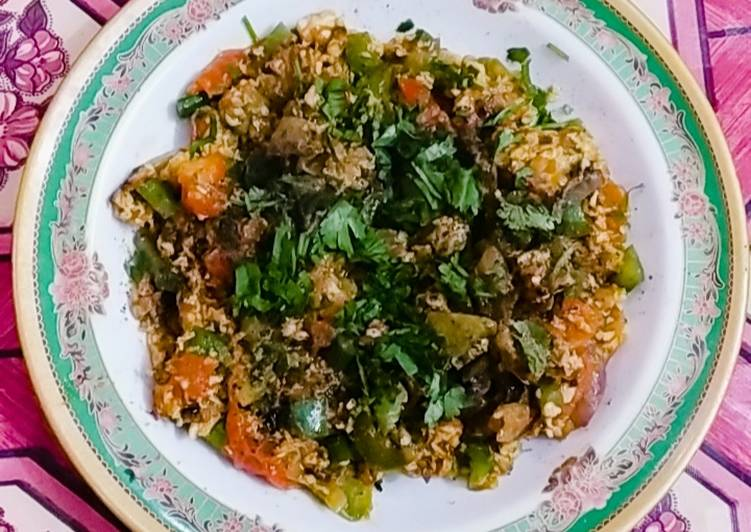 Hearty Comfort Dinner Easy Award Winning Egg bhujia