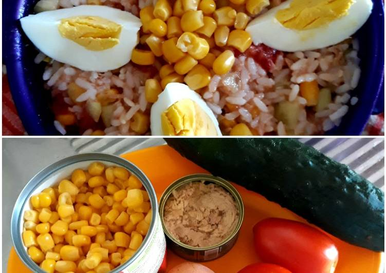 Recipe of Any-night-of-the-week Summer Rice Salad