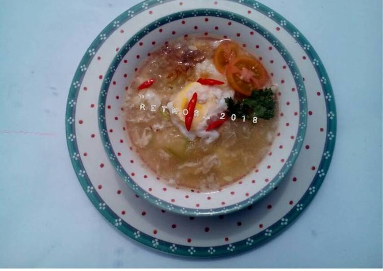 Timun kuah telur (diet debm)