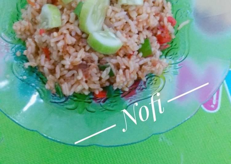 Nasi goreng rendang royco