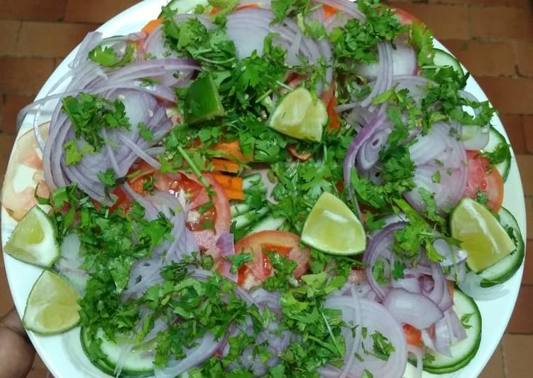 Easiest Way To Cook Perfect Indian Salad
