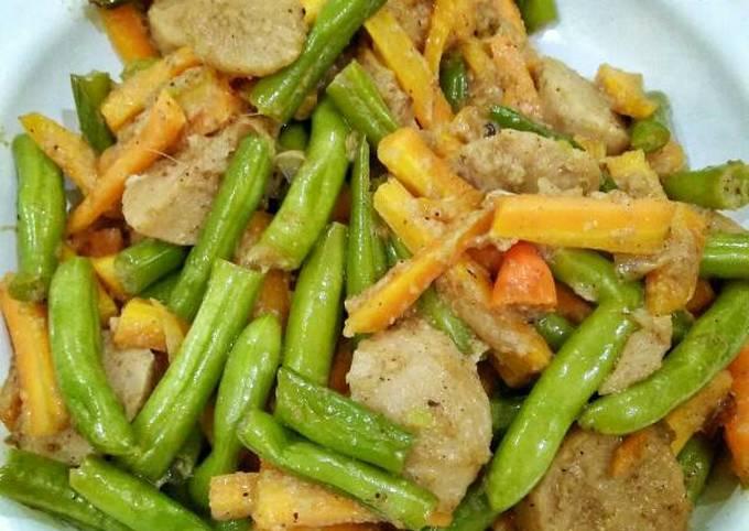 Tumis buncis wortel (ala box catering)