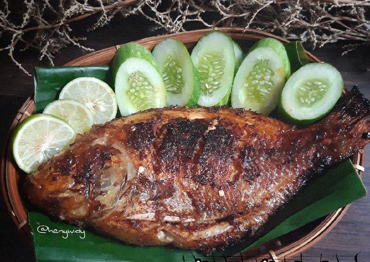 Ikan Nila Bakar bumbu Jimbaran