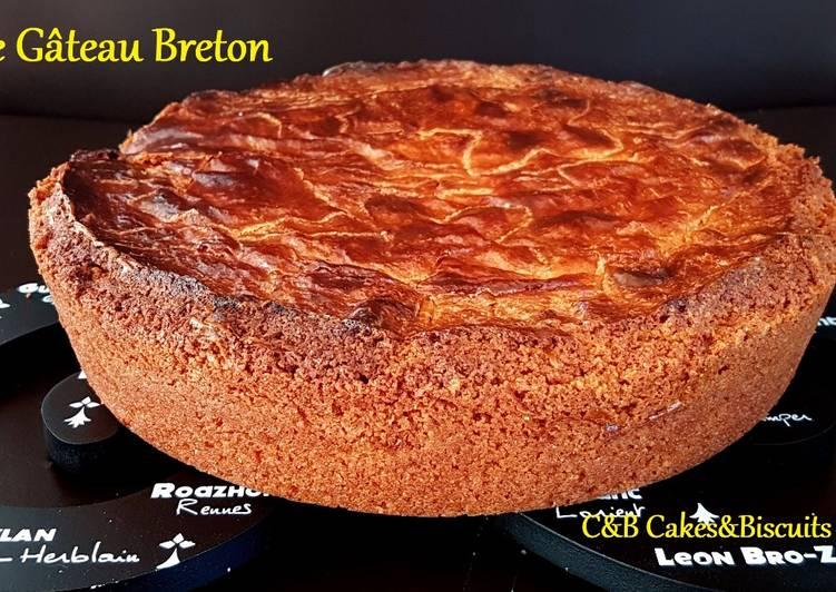 Recette: Le Gâteau Breton