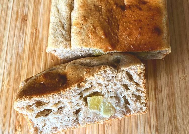 Recette  Gâteau pommes cannelle