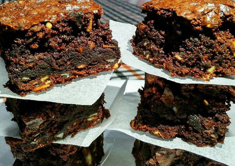 My chewy fudgy brownies