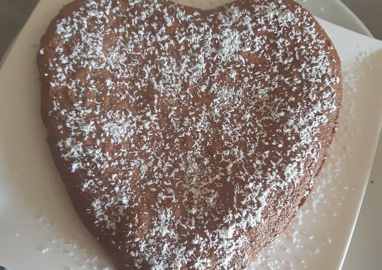 Fondant chocolat et noix de coco