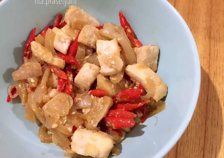 Ikan marlin oseng cabe merah