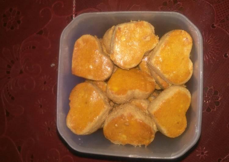 Kue Kacang Tepung Mokaf