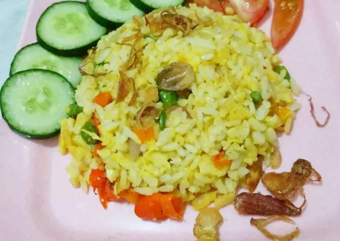 Nasgor Korea viral modifikasi- Korean fried rice