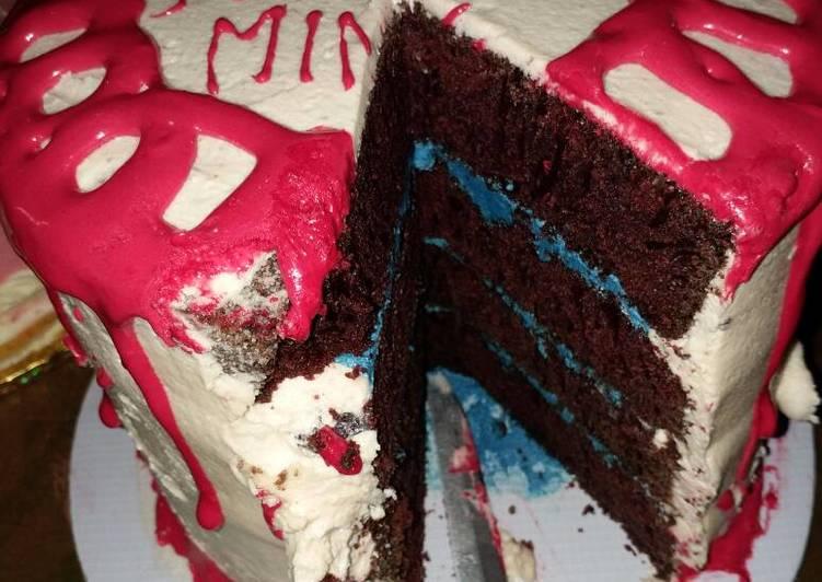 Steps to Make Any-night-of-the-week Red velvet cake