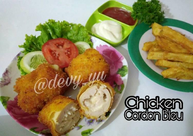Chicken Cordon Bleu a.k.a Cheesy Chicken