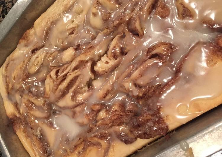 Recipe: Tasty Cinnamon Roll Cake