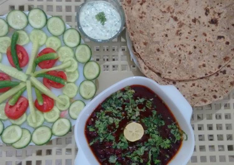How to Prepare Homemade Rajma Lobia ka Salan Kidney Bean Curry