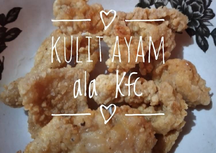Kulit Ayam ala Kfc